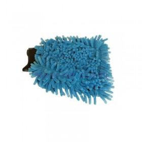 Gant de lavage Microfibre Rasta Colors 2 faces différentes