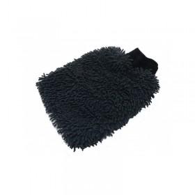 Gant de lavage Microfibre Rasta noir 2 faces identiques