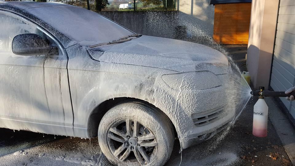Foam Lance lavage Audi Q7
