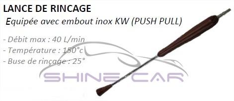 Lance de rinçage HP Foam Lance Canon à mousse Shine Car