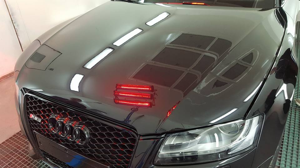 Protection Audi RS5 Polish Secours LSAM Details