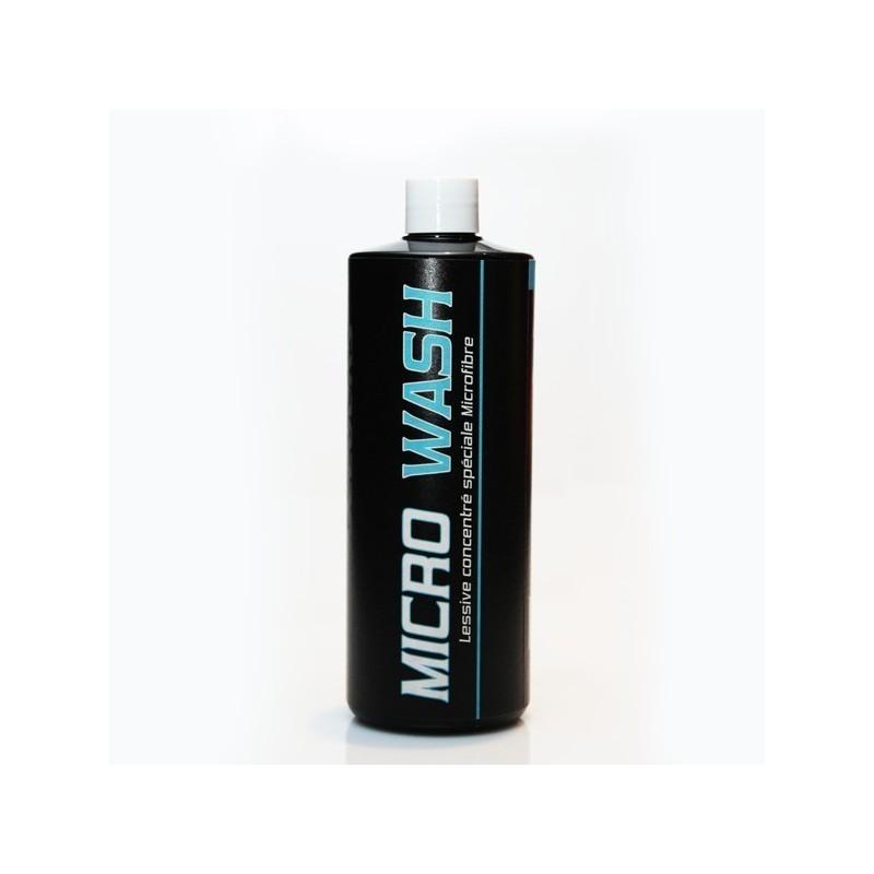 Lessive concentrée spéciale entretien microfibres Microwash Polish Secours Shine Car