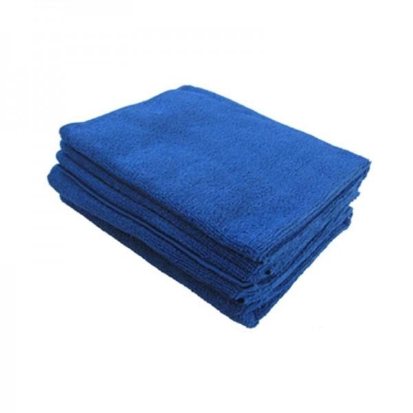 Microfibre Tricot Soft bleue XL